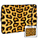 15'' Designer Laptop Sleeve Leopard