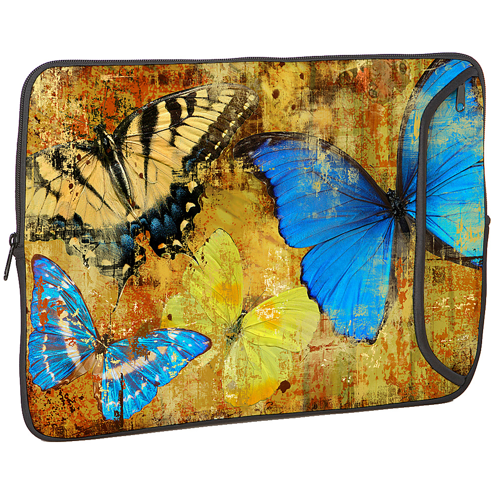 Designer Sleeves 15 Designer Laptop Sleeve Butterflies 2 - Designer Sleeves Electronic Cases - Technology, Electronic Cases