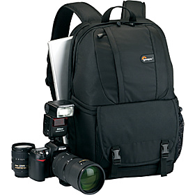 Fastpack 250 Camera/Laptop Backpack Black