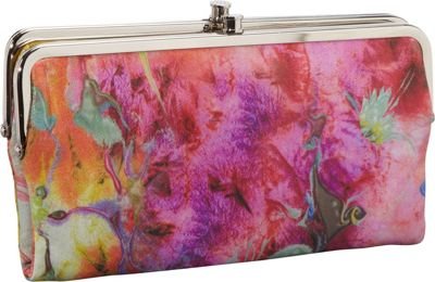 Hobo Lauren Wallet PAINTED FLORAL | eBay