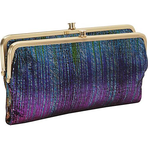 Hobo Lauren Wallet Iridescent Stripe - Hobo Ladies Clutch Wallets