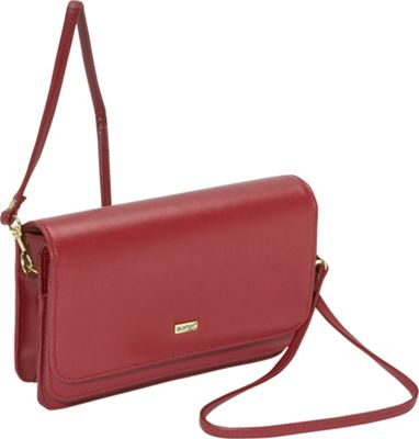Buxton Double-Flap Mini-Bag with Total Wallet
