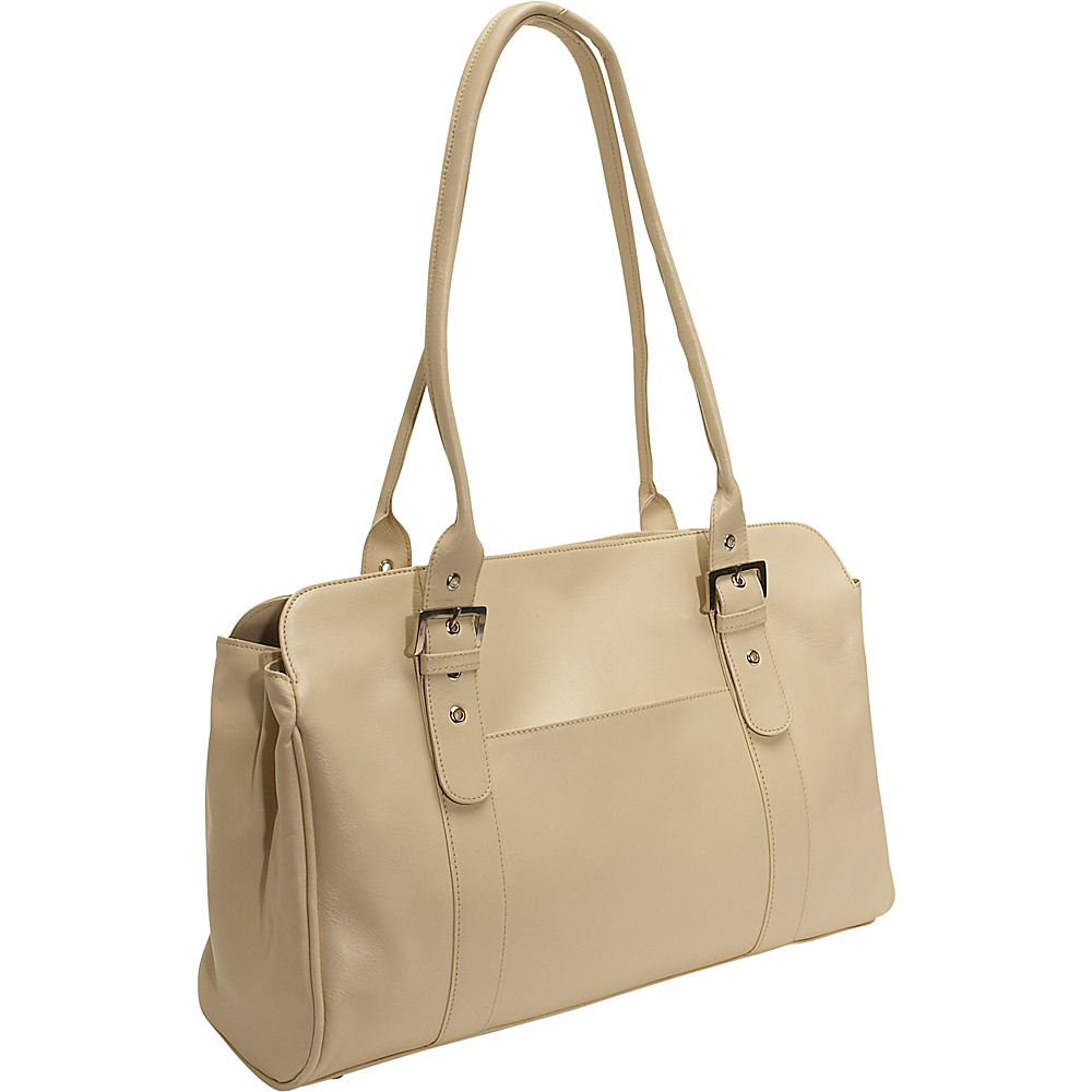 Piel Leather Working Tote Bag - Ivory - Work Bags & Briefcases, Women's Business Bags