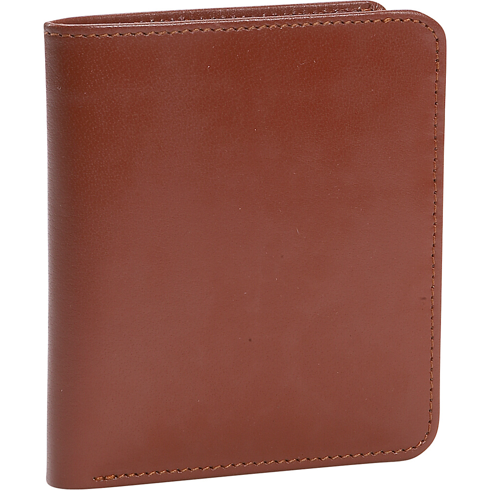 Leatherbay Mens Double Fold Leather Wallet - Antique - Work Bags & Briefcases, Men's Wallets