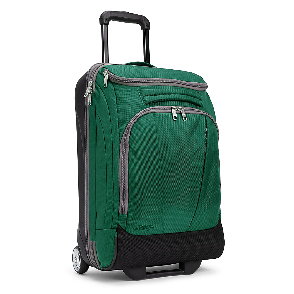 eBags TLS Mother Lode Mini 21 Wheeled Carry-On Duffel Emerald (Limited Edition) - eBags Rolling Duffels - Luggage, Rolling Duffels
