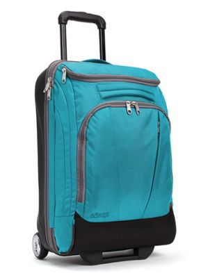 eBags TLS Mother Lode Mini 21 inch Wheeled Carry-On Duffel Tropical Turquoise - eBags Rolling Duffels