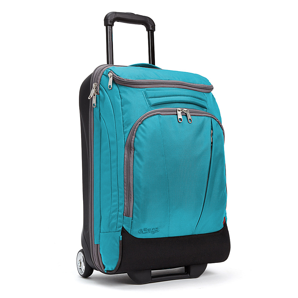 eBags TLS Mother Lode Mini 21 Wheeled Carry-On Duffel Tropical Turquoise - eBags Rolling Duffels - Luggage, Rolling Duffels