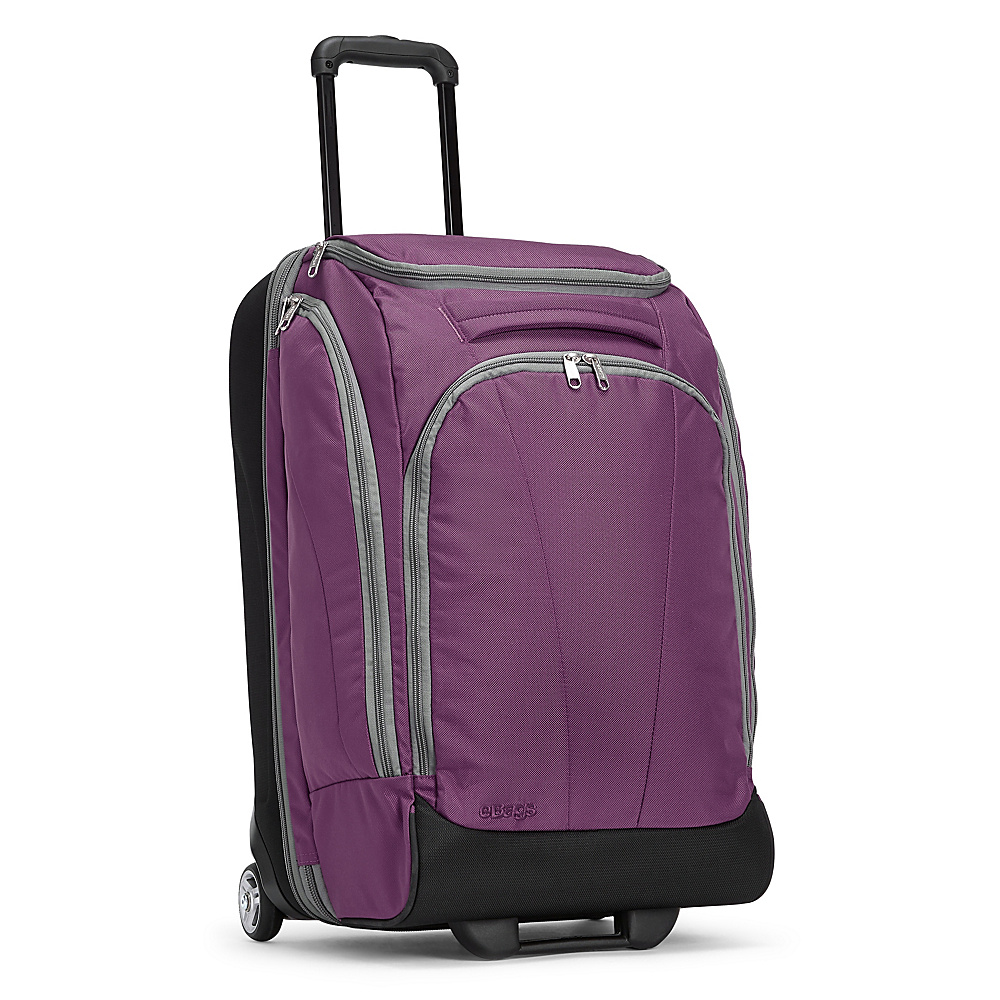 eBags TLS Mother Lode Junior 25 Wheeled Duffel Eggplant - eBags Rolling Duffels - Luggage, Rolling Duffels