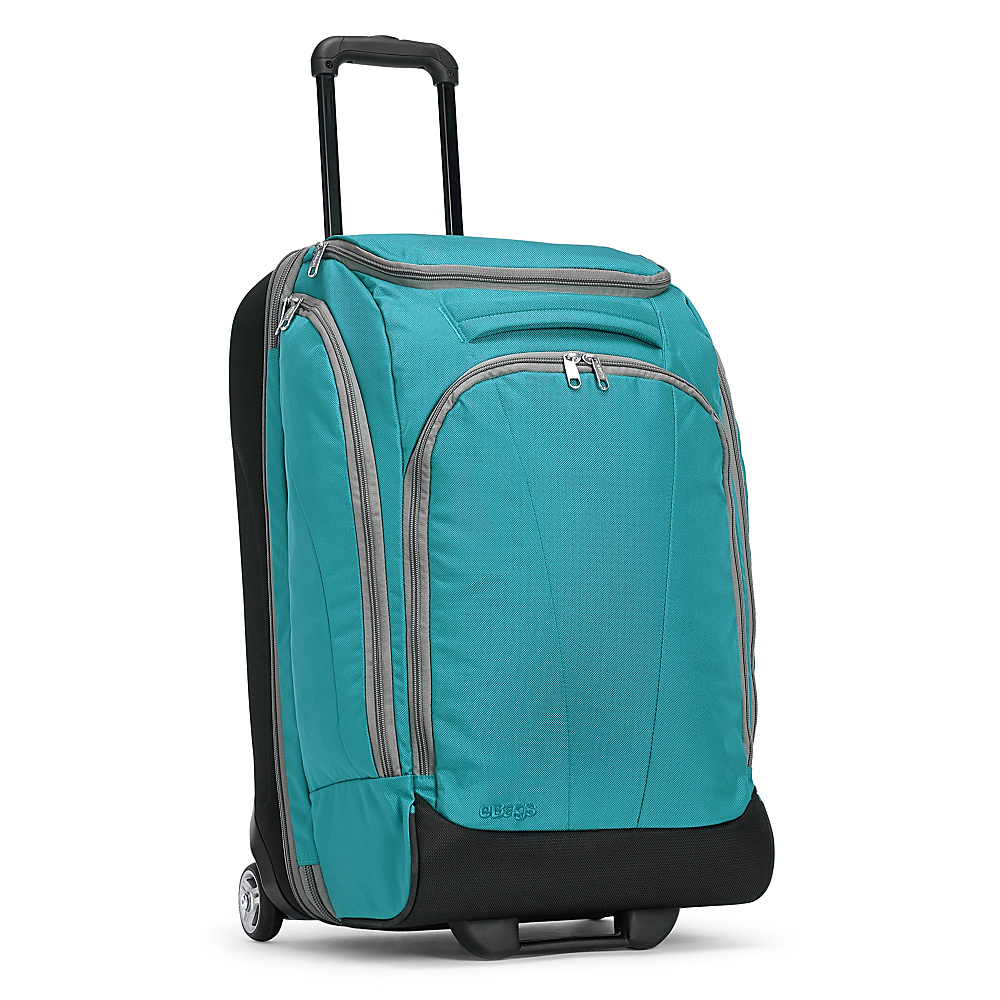 eBags TLS Mother Lode Junior 25 Wheeled Duffel Tropical Turquoise eBags Rolling Duffels