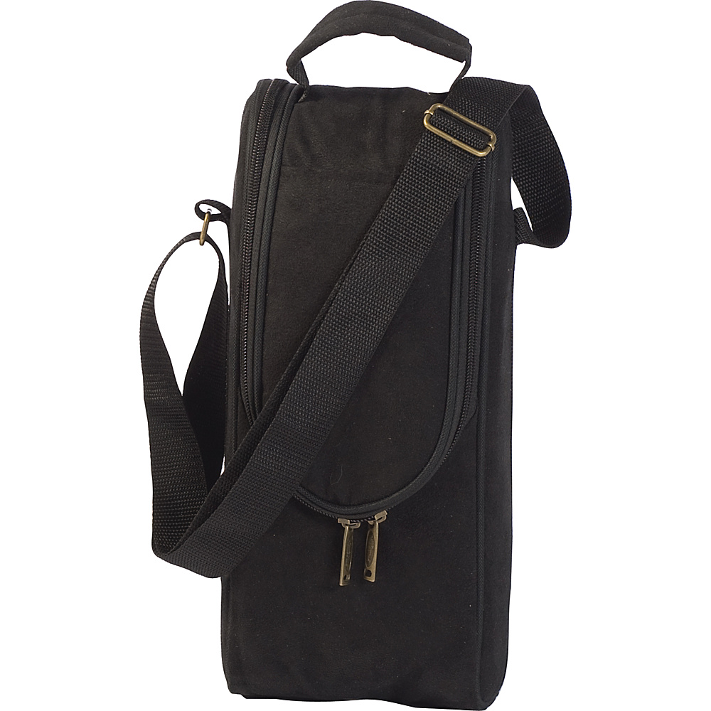 Picnic Plus Single Bottle Carrier Black