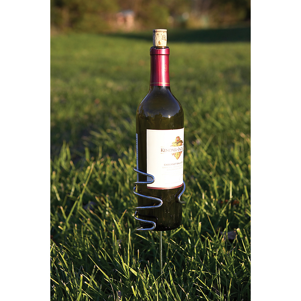 Picnic Plus Wine Bottle Holder Silver