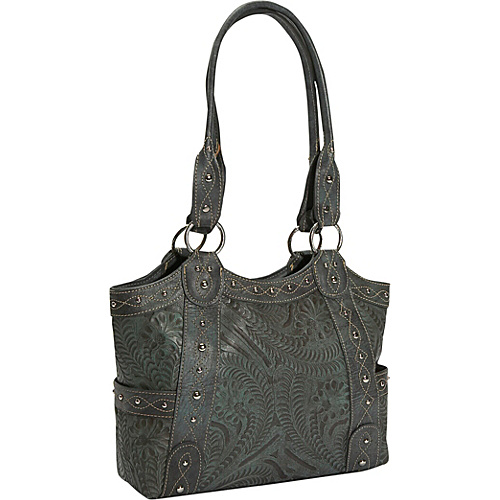 American West Over the Rainbow Tote - Antique Turquoise
