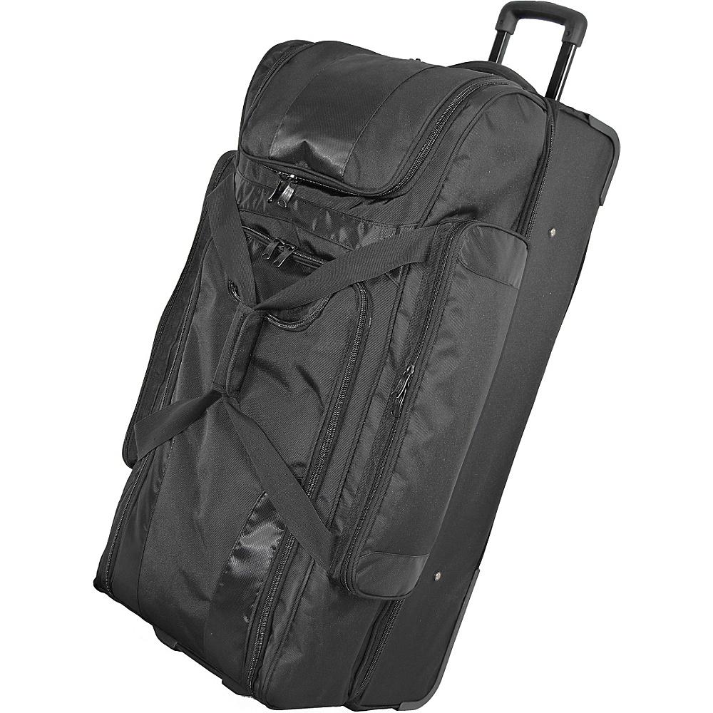Netpack 36 Deluxe Siera Wheeled Duffel - Black - Luggage, Rolling Duffels