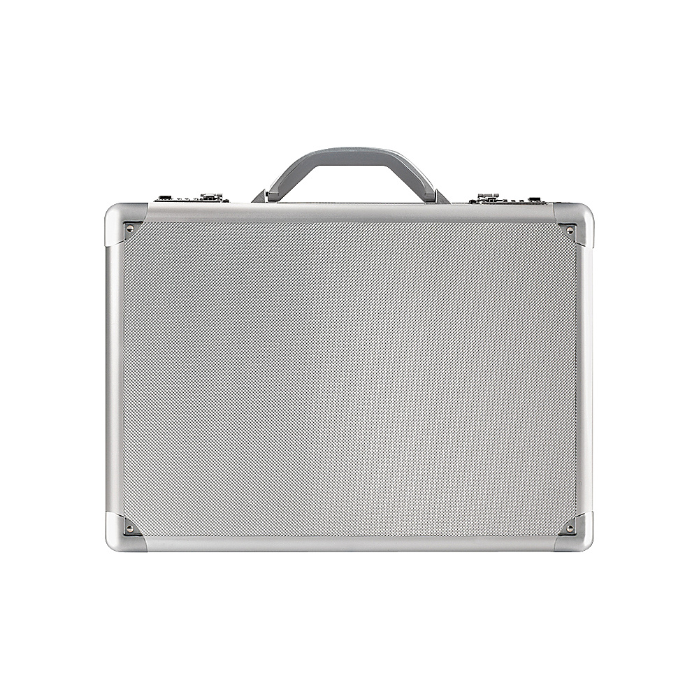 SOLO 17 Aluminum Laptop Attache Titanium
