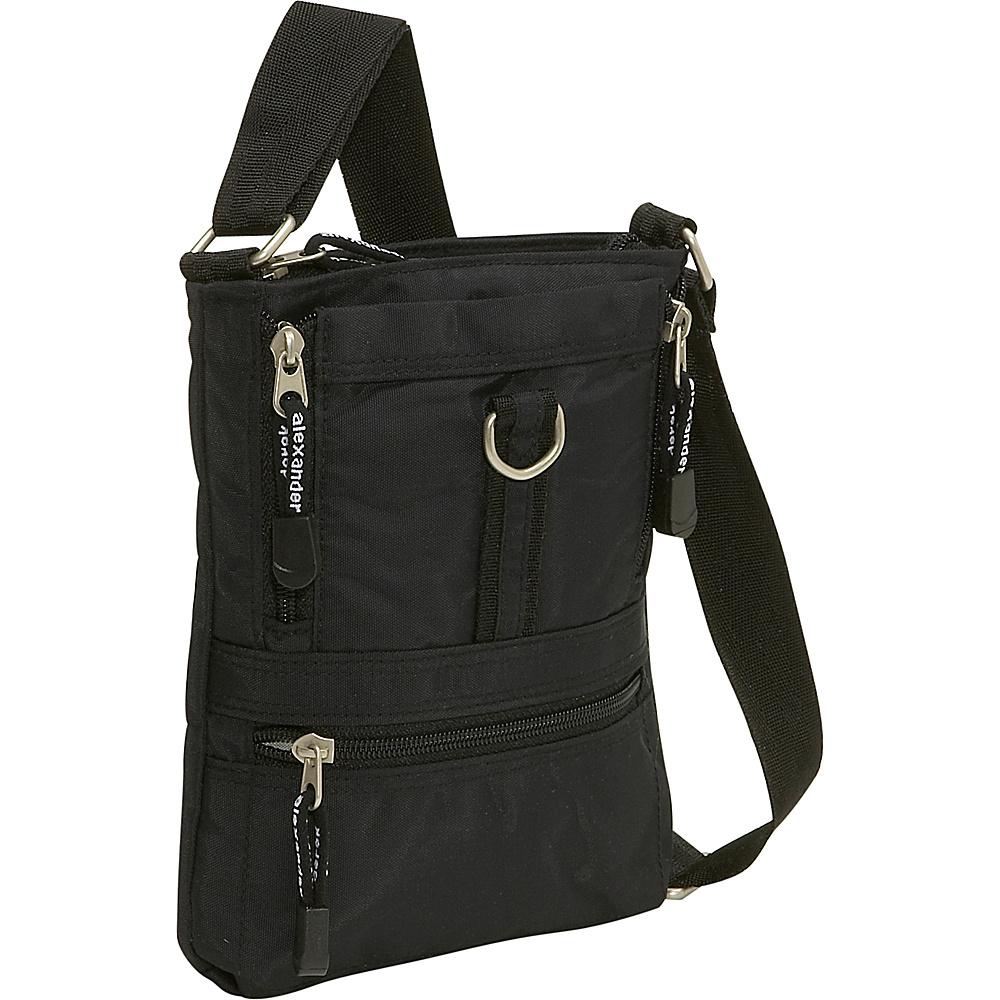 Derek Alexander Small Top Zip Bag With Organizer - Cross Body - Handbags, Fabric Handbags