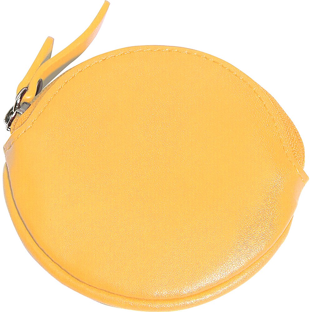 Clava Round Coin Purse - CI Yellow