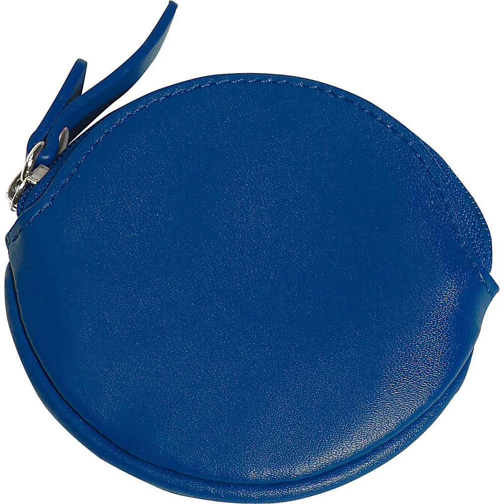 Clava Round Coin Purse - Cl Blue