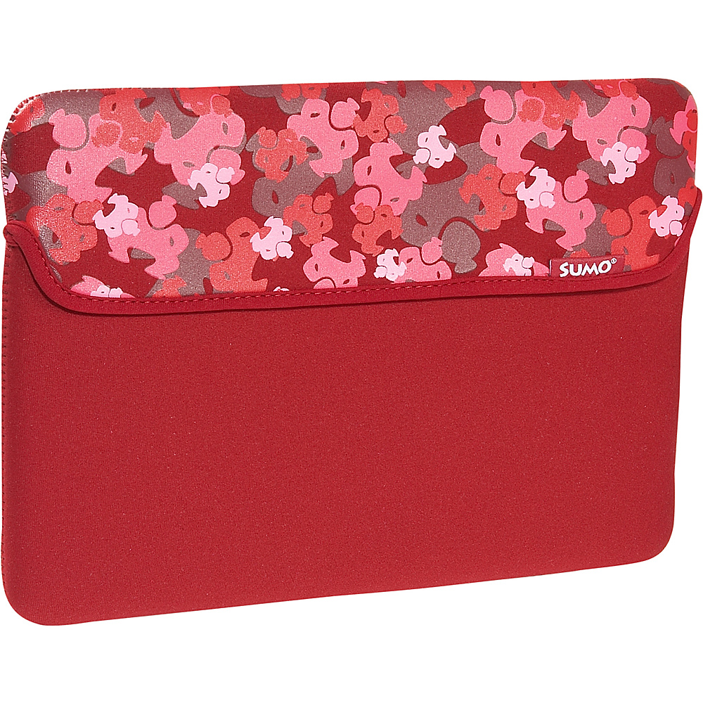 Sumo Camo Sleeve for 13 MacBook Red