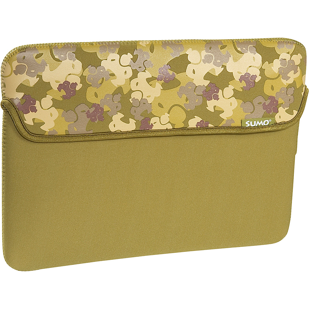 Sumo Camo Sleeve for 13 MacBook Green