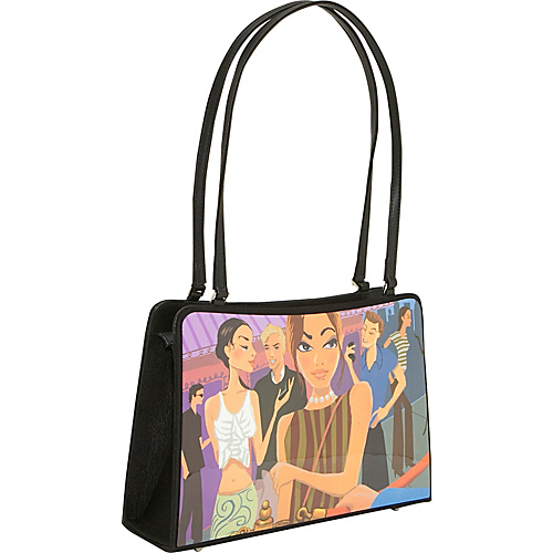 Prezzo Acrylic Photo Double Handle Shoulder Bag - Shoulder Bag