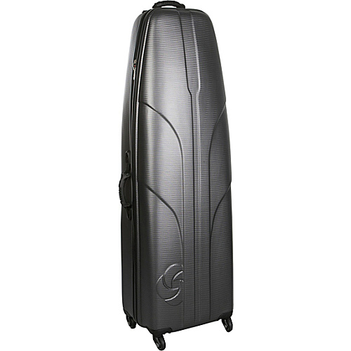 Samsonite Golf Travel Sportlab Hardside Golf Travel Case Silver - Samsonite Golf Travel Golf Bags