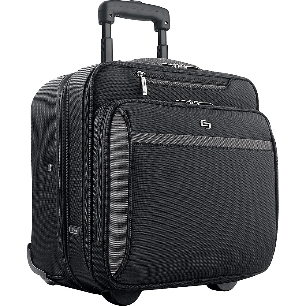 SOLO Sterling CheckFast Rolling Laptop Case