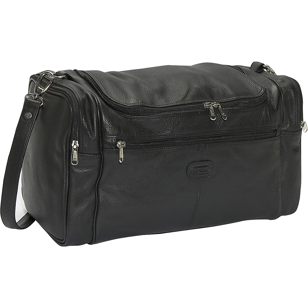 Leatherbay Mini Globe Trotter - Black - Duffels, Travel Duffels