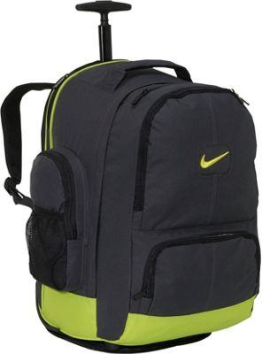 nike swoosh rolling laptop backpack ebags