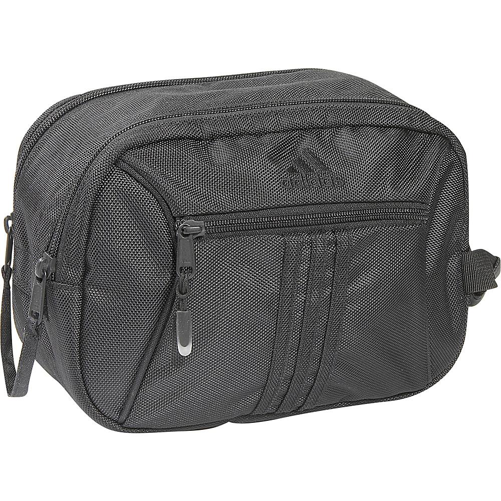 adidas Tourney Toiletry Kit Black - adidas Toiletry Kits - Travel Accessories, Toiletry Kits