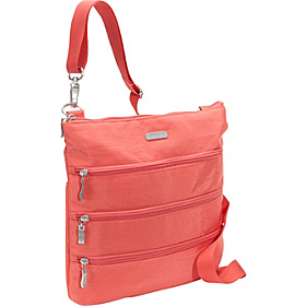 Big Zipper Bagg Coral/Mustard