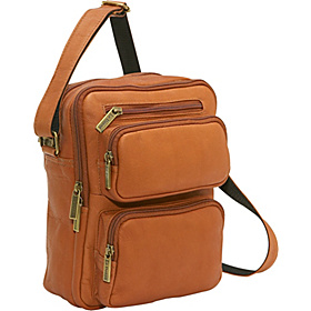 Multi Pocket Mens Bag Tan