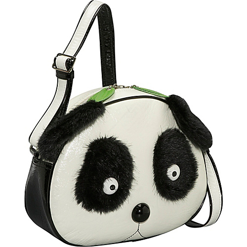 Ashley M Panda Face Shoulder Bag - Cross Body