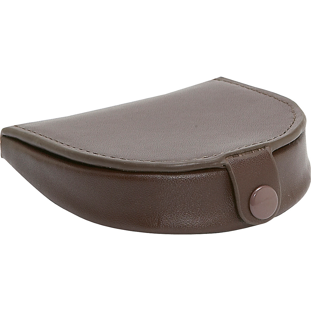 Royce Leather Coin Purse - Brown - Women's SLG, Women's Wallets