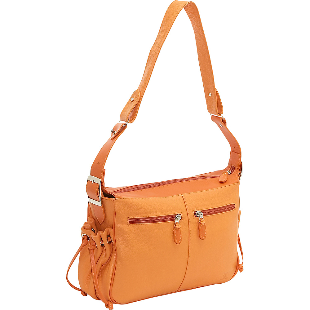 John Cole Yedda - Sunset/Mandarin - Handbags, Leather Handbags