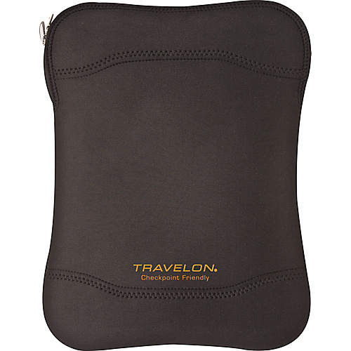 Travelon Checkpoint Friendly Laptop Sleeve N-S - Black