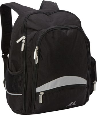 Russell Deluxe Backpack Black - Russell Business & Laptop Backpacks
