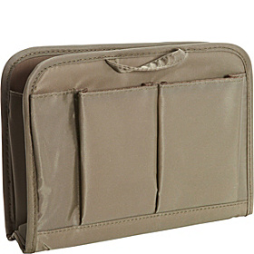 RFID Blocking Purse Organizer Med. Gray