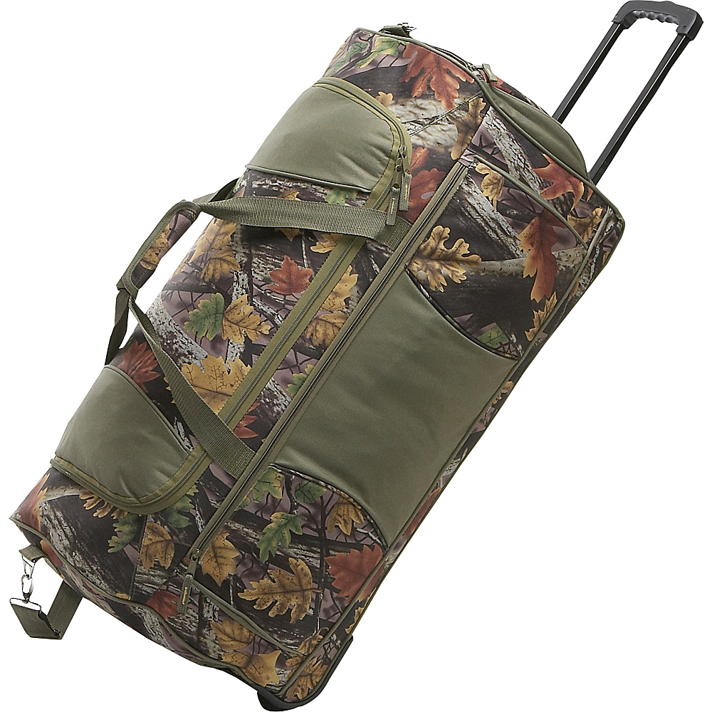 Bellino Camo Rolling Duffle - Camo - Luggage, Softside Checked