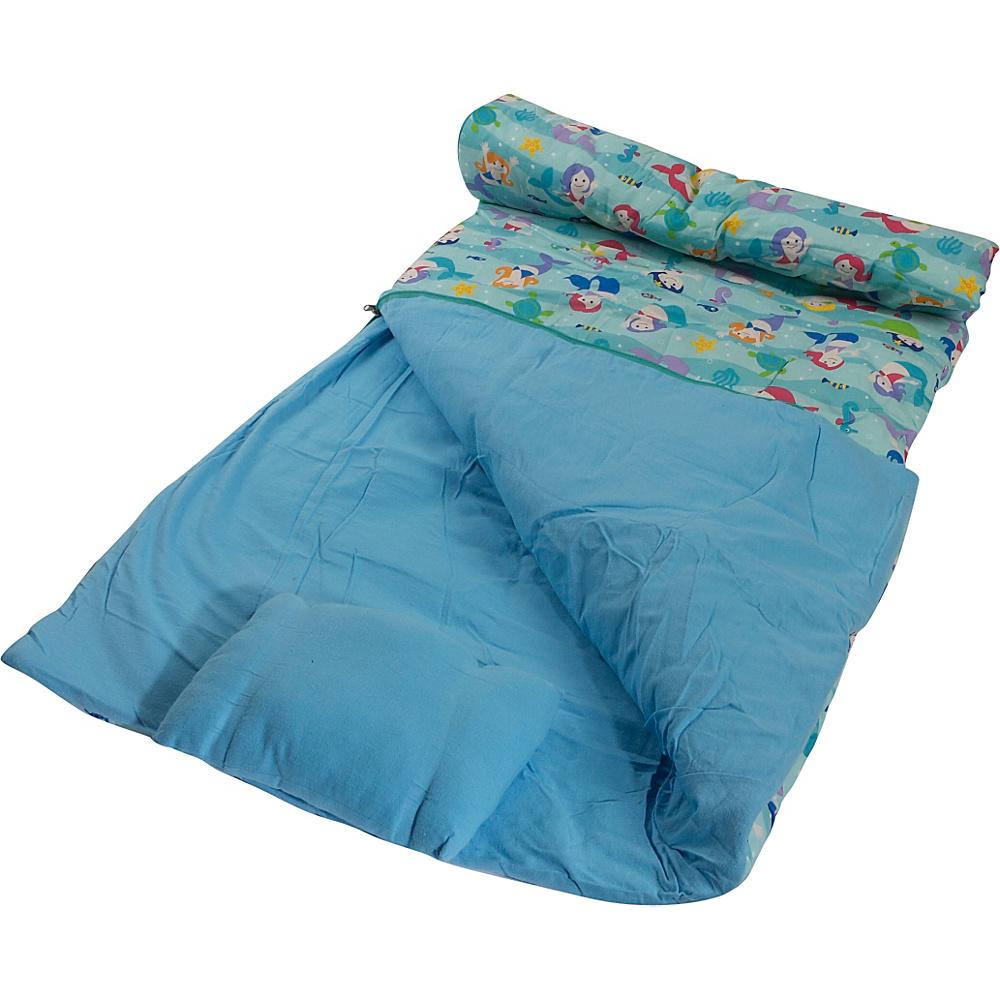 Wildkin Olive Kids Mermaids Sleeping Bag Olive Kids Mermaids - Wildkin Travel Comfort and Health