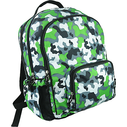 Wildkin Camouflage Macropak Backpack - Camouflage