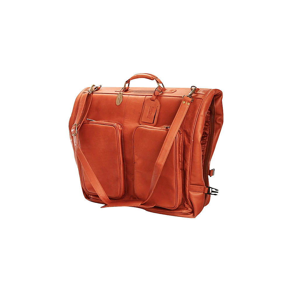 ClaireChase Classic Garment Bag Saddle