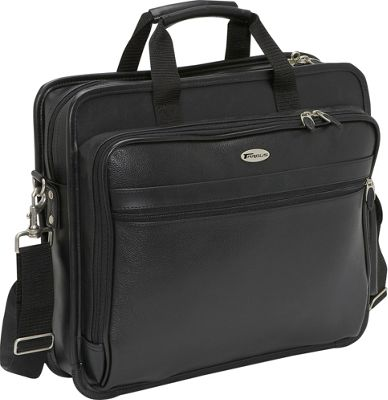 Targus 15.4 Leather Laptop Case - Black