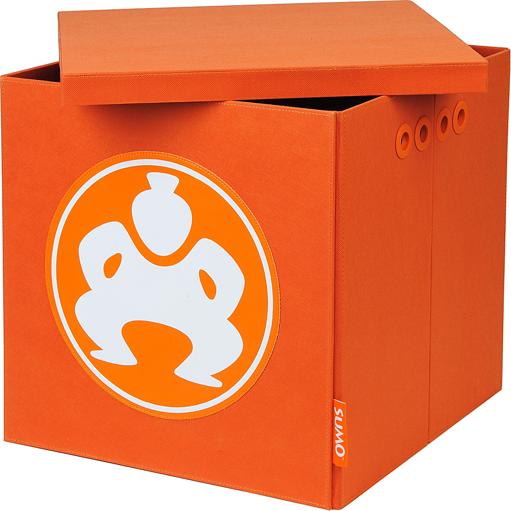 Sumo Sumo Folding Furniture Cube 18 Orange