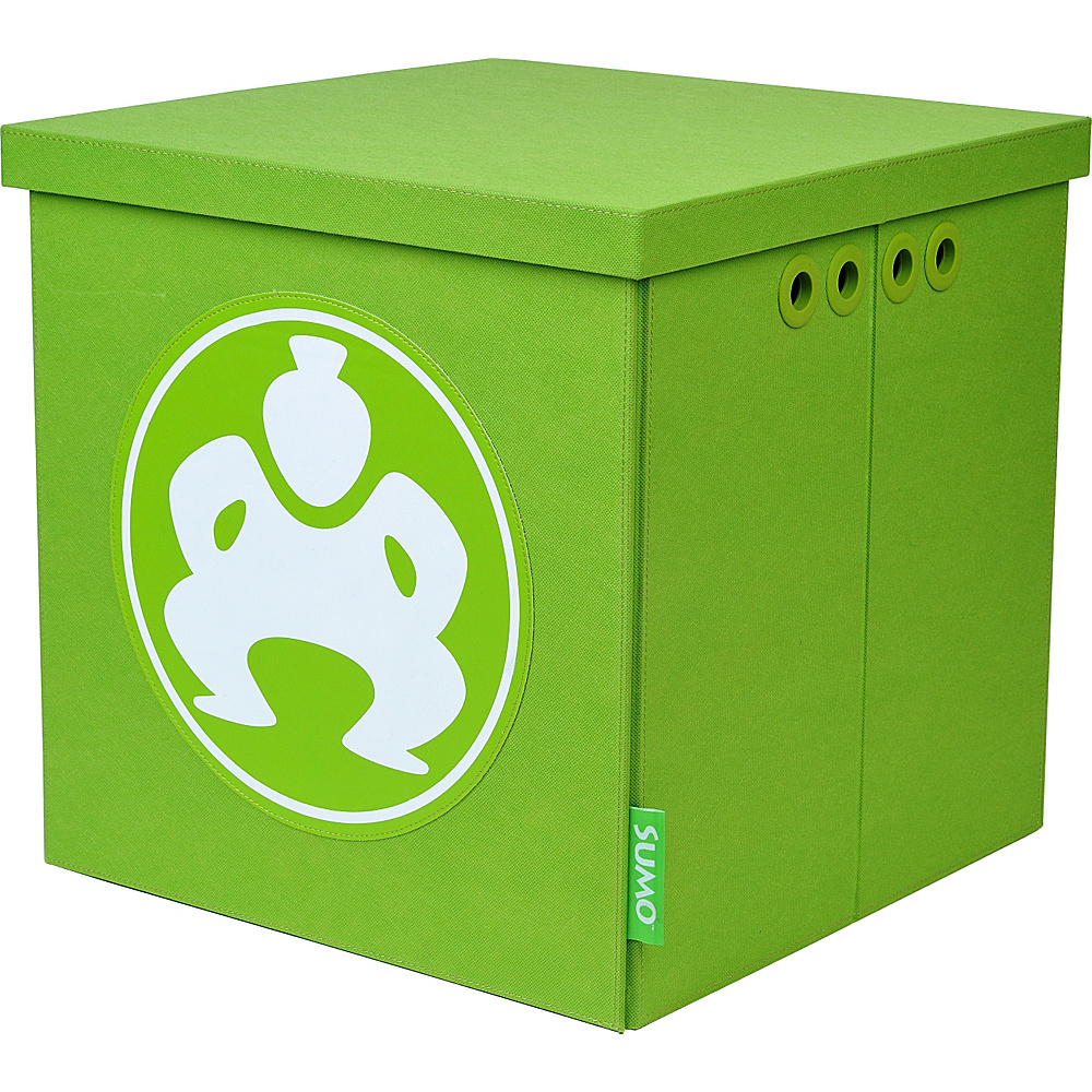 Sumo Sumo Folding Furniture Cube 18 Green