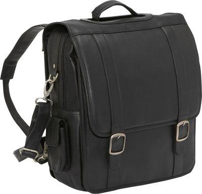 Le Donne Leather Convertible Backpack Shoulder Bag 5