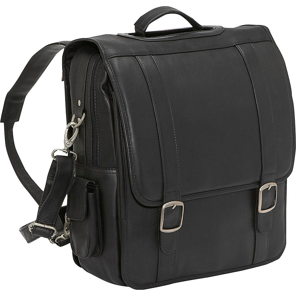 Le Donne Leather Convertible Backpack/Laptop Brief - Backpacks, Business & Laptop Backpacks