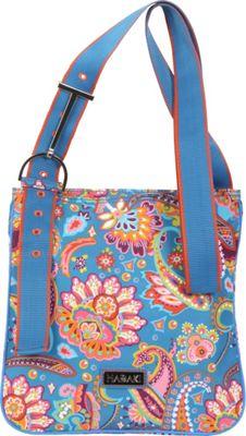 Hadaki Sponge Nylon Scoop Sling Cassandra Paisley - Hadaki Fabric Handbags