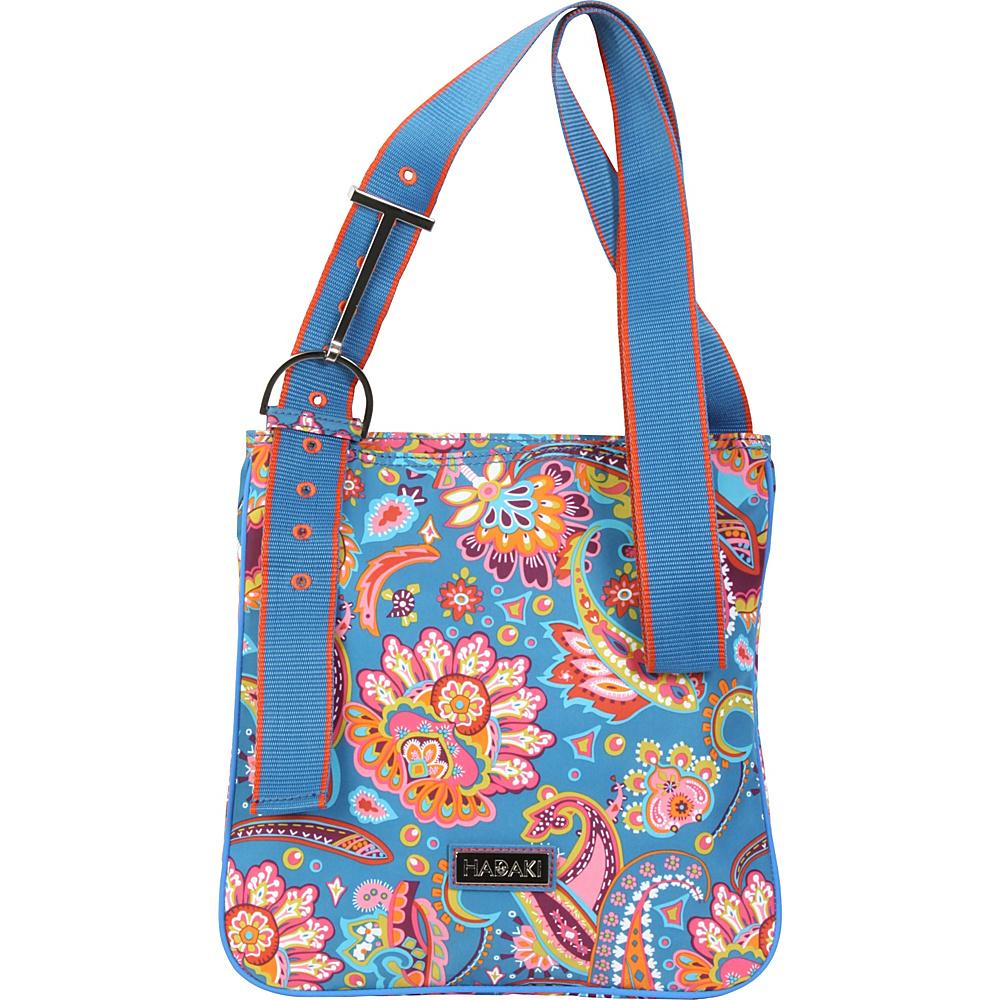 Hadaki Sponge Nylon Scoop Sling Cassandra Paisley - Hadaki Fabric Handbags - Handbags, Fabric Handbags