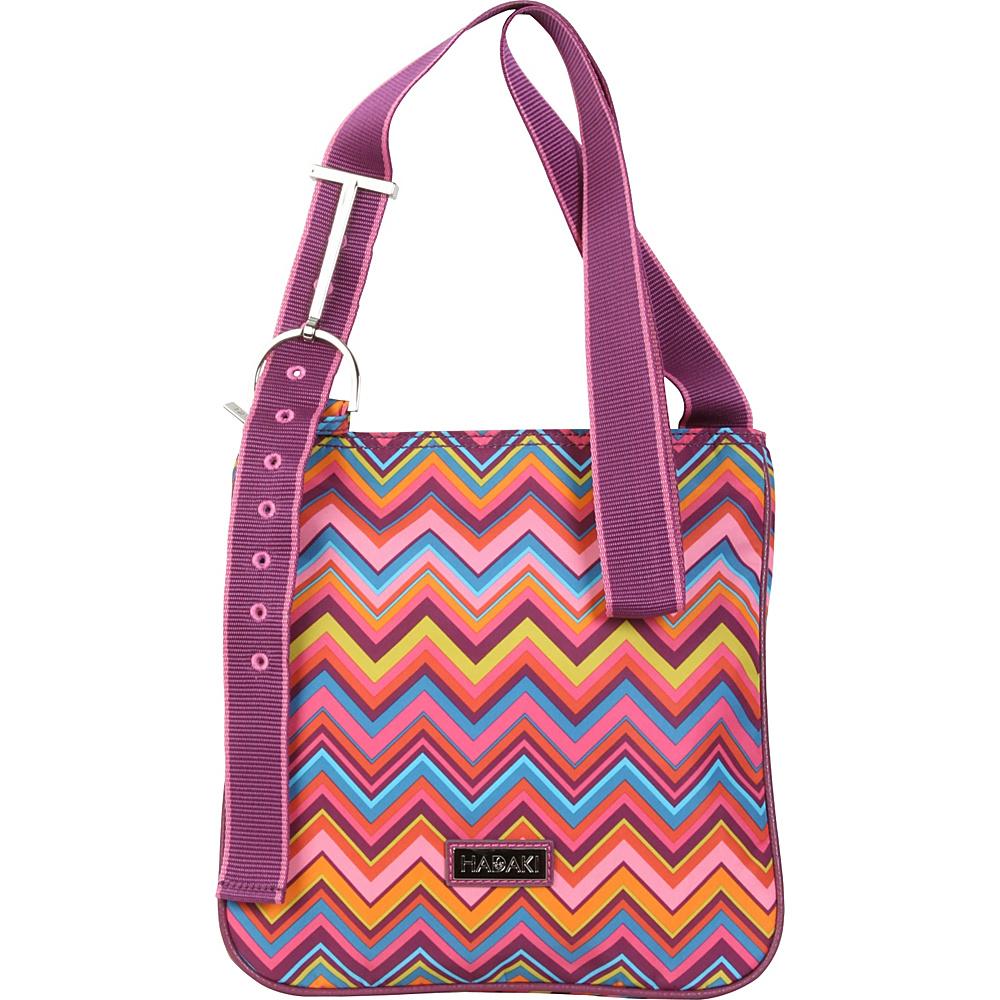 Hadaki Sponge Nylon Scoop Sling Cassandra ZigZag - Hadaki Fabric Handbags - Handbags, Fabric Handbags