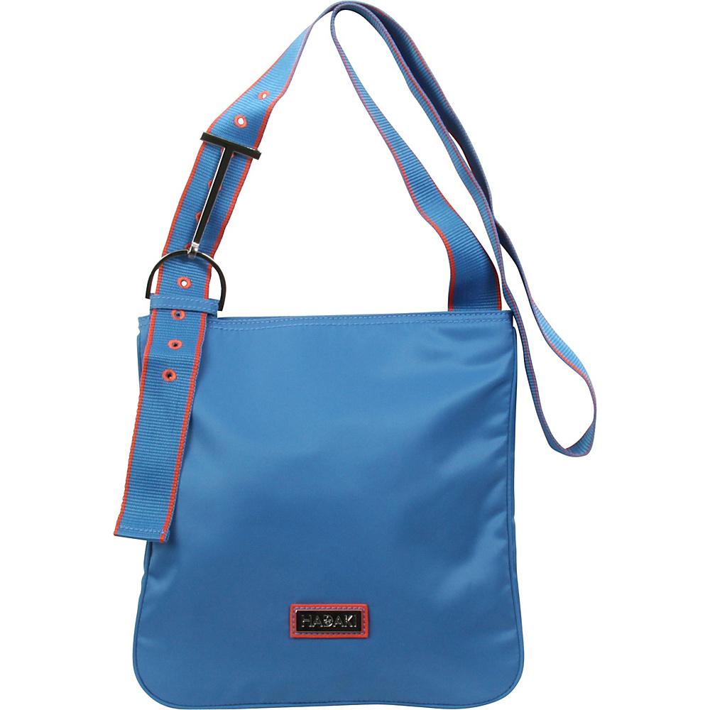 Hadaki Sponge Nylon Scoop Sling Deep Water - Hadaki Fabric Handbags - Handbags, Fabric Handbags